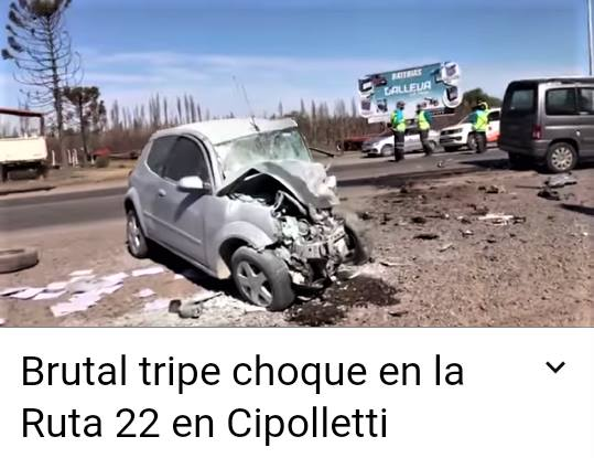 accidente ruta