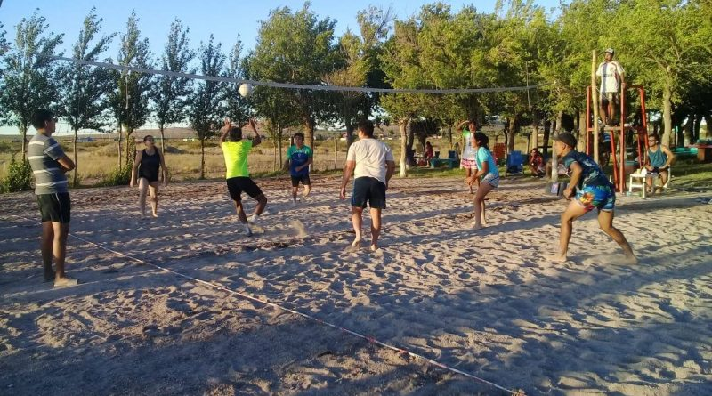 beach voley valcheta